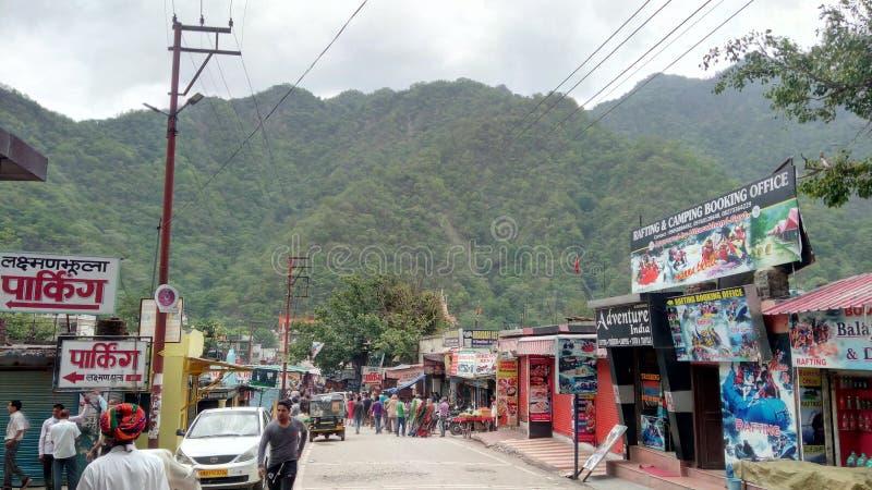 Mercado da montanha fotografia de stock