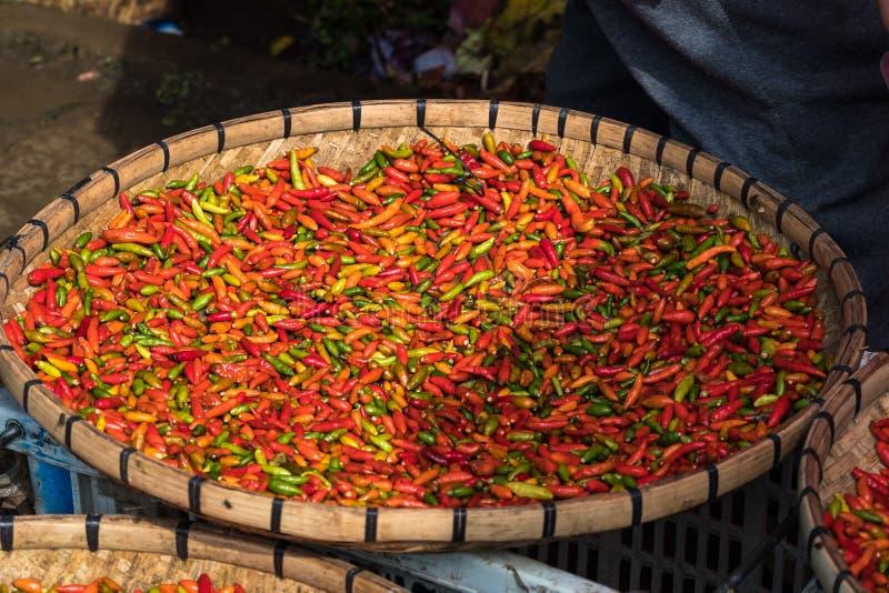 Mercado da noite em Luang Prabang, Laos, 3Sudeste Asi?tico fotografia de stock royalty free