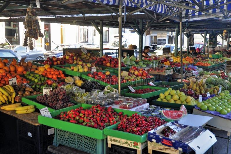 Mercado das ruas fotos de stock royalty free