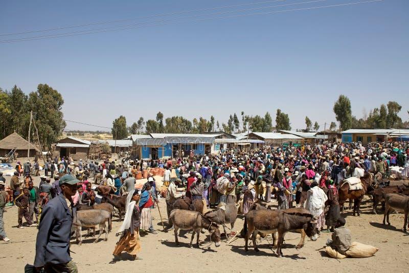 Mercado de África fotografía de archivo libre de regalías