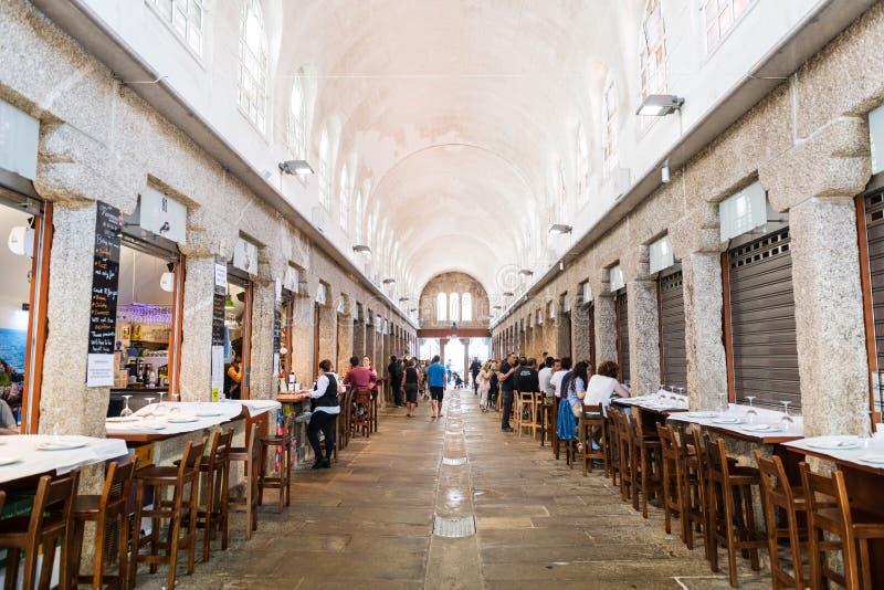 Mercado de Abastos a Santiago de Compostela immagini stock libere da diritti