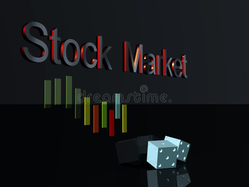 Mercado de acción imagen de archivo libre de regalías