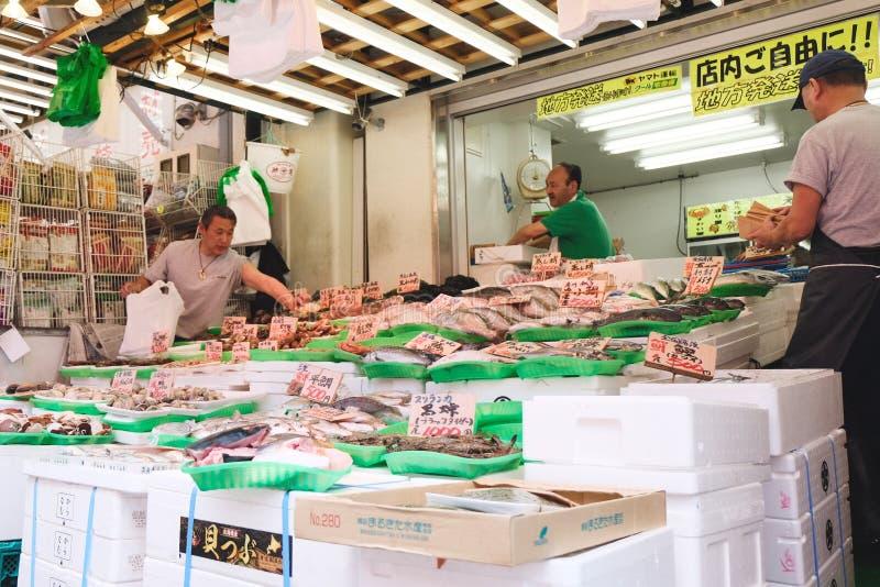Mercado de Ameyoko fotos de archivo libres de regalías