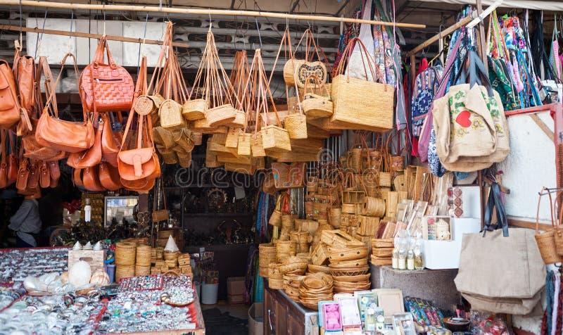 Mercado de Bali fotos de stock royalty free