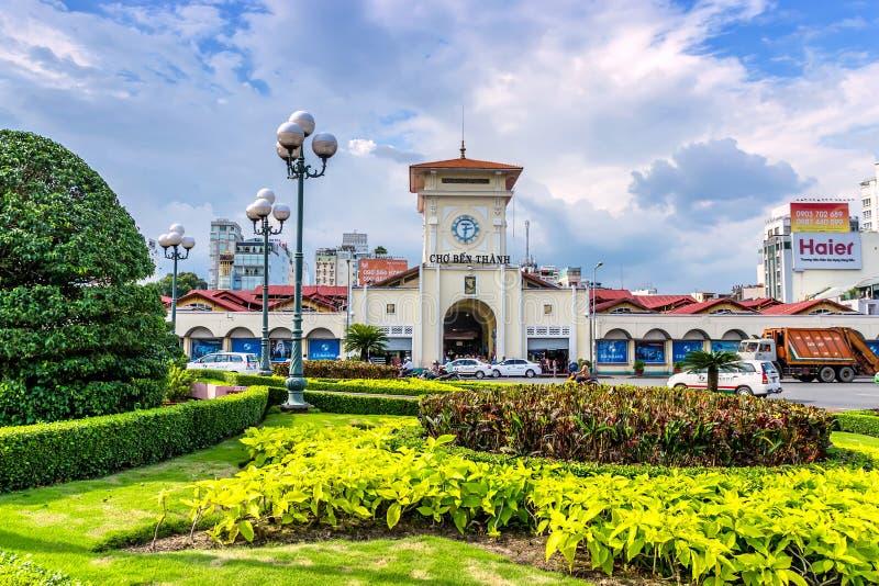Mercado de Ben Thanh fotos de stock royalty free