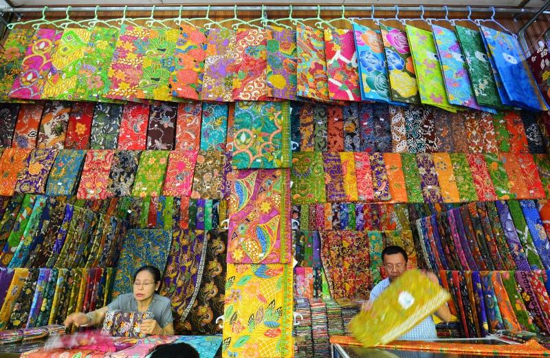 Mercado de Bogyoke imagen de archivo libre de regalías