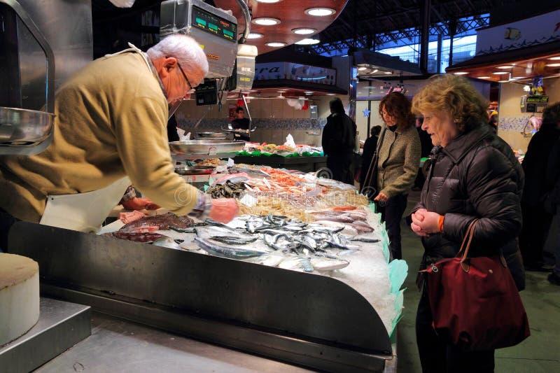 Mercado de Boqueria fotos de stock