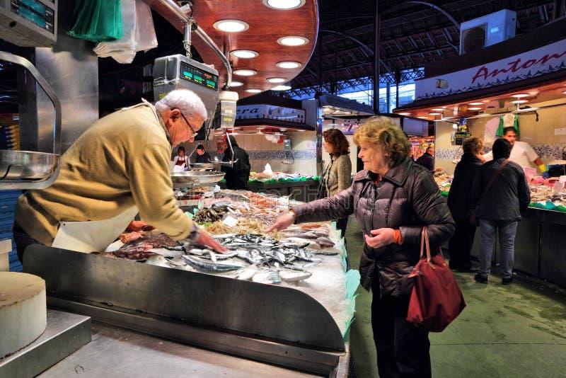 Mercado de Boqueria foto de stock royalty free