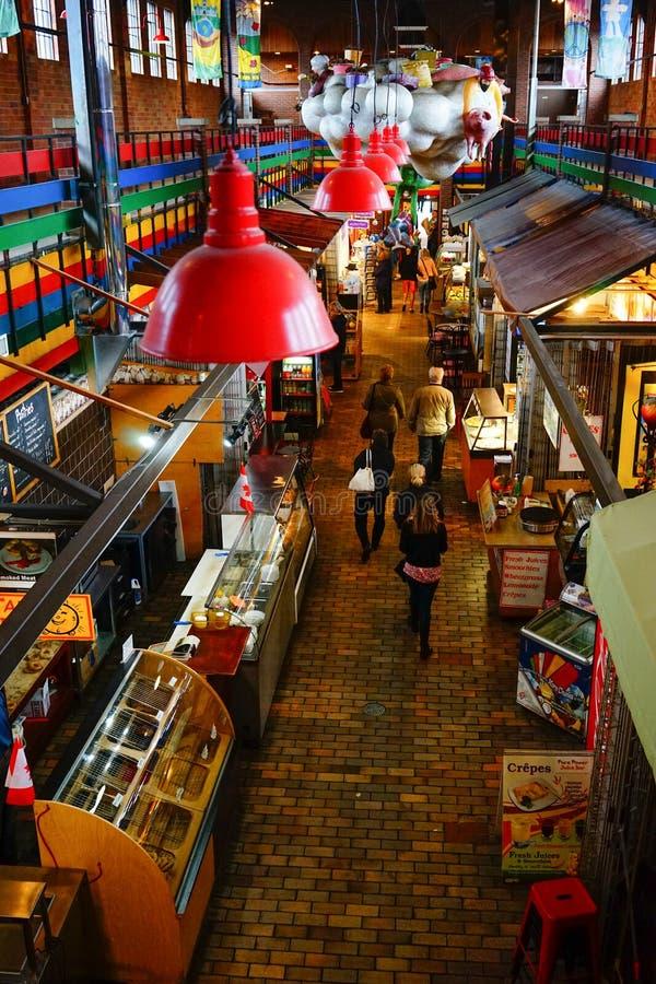 Mercado de ByWard en Ottawa, Canadá imagen de archivo