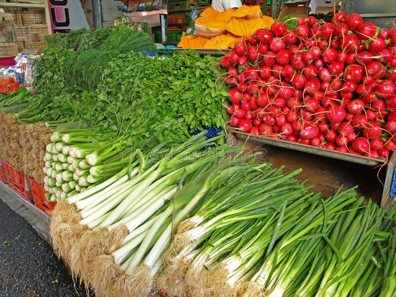 Mercado de Carmel imagem de stock royalty free