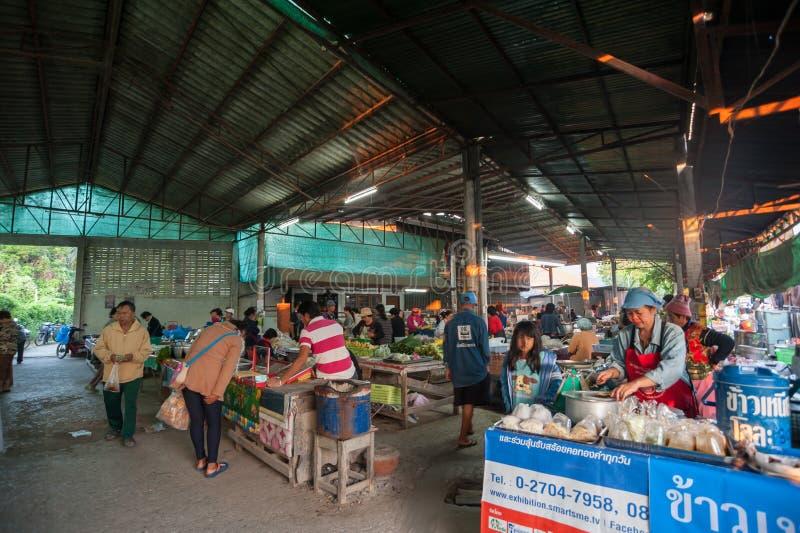 Mercado de CHIANG MAI por la mañana fotos de archivo libres de regalías