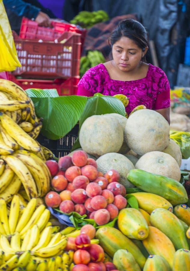 Mercado de Chichicastenango fotos de archivo libres de regalías