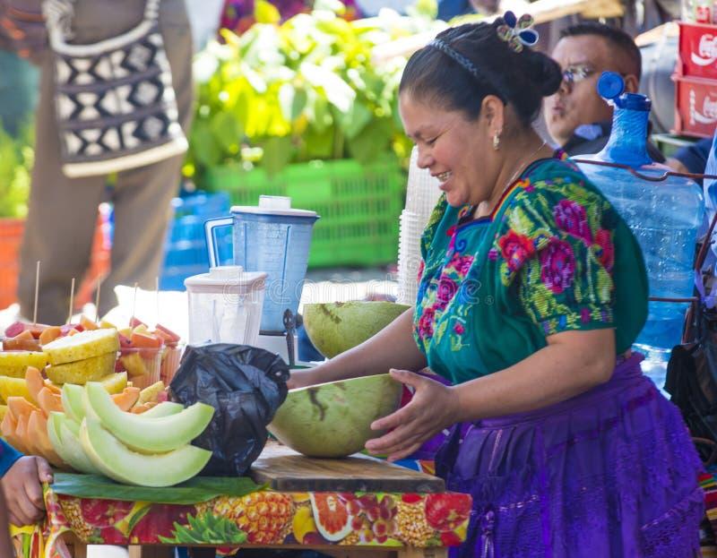 Mercado de Chichicastenango foto de archivo libre de regalías
