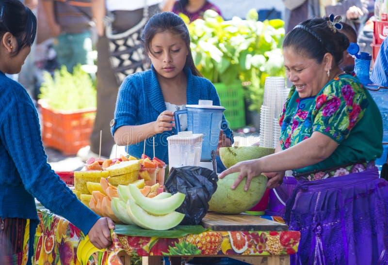 Mercado de Chichicastenango imagen de archivo libre de regalías