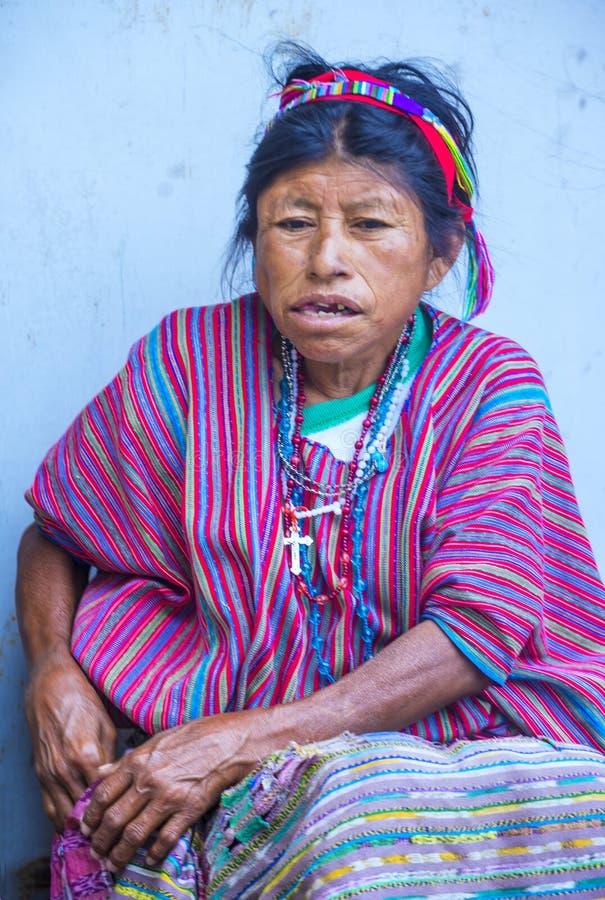 Mercado de Chichicastenango fotografía de archivo
