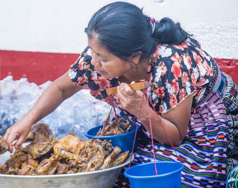 Mercado de Chichicastenango foto de archivo
