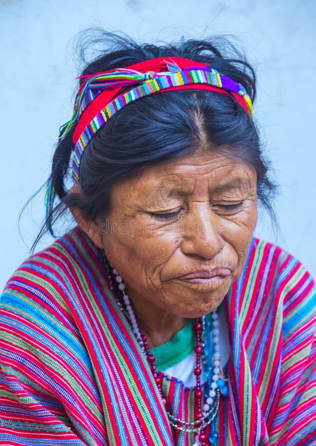 Mercado de Chichicastenango imagen de archivo