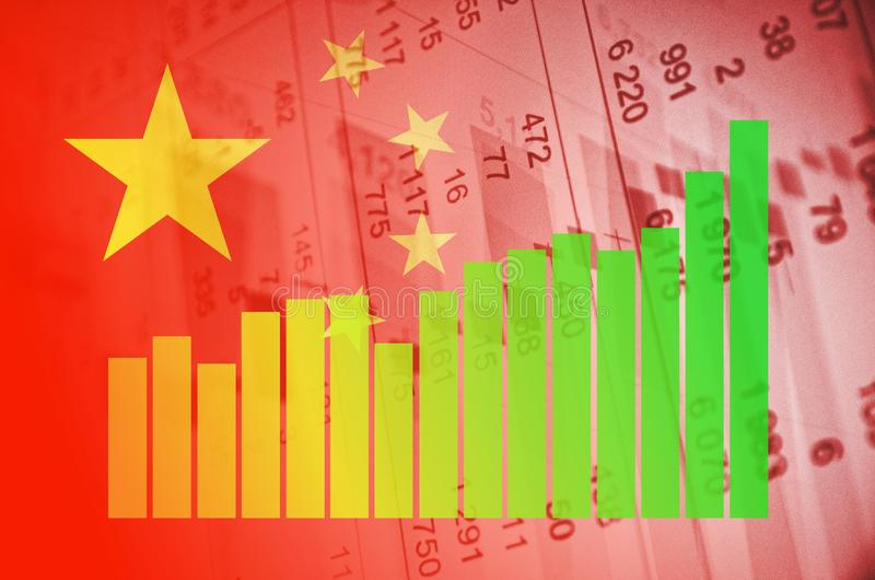 Mercado de China fotografía de archivo libre de regalías
