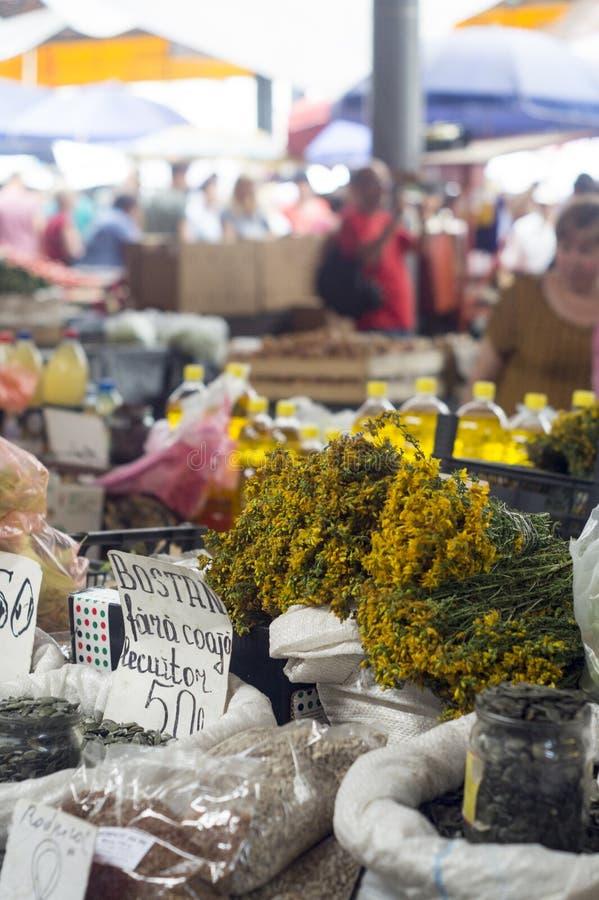 Mercado de Chisinau imágenes de archivo libres de regalías