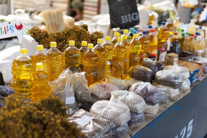 Mercado de Chisinau foto de archivo