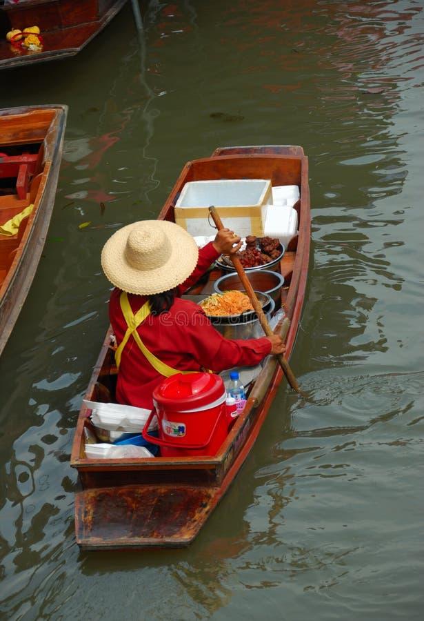 Mercado de flutuação Tailândia fotos de stock