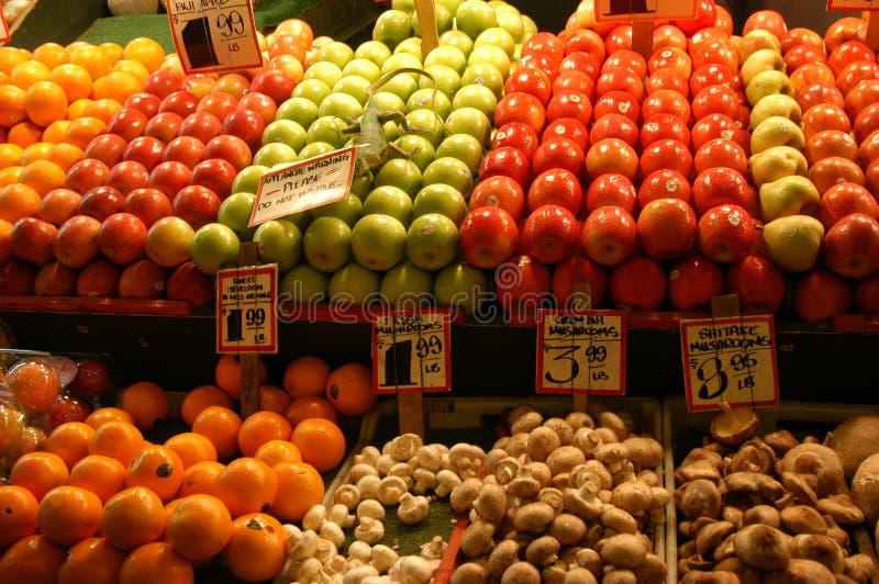 Mercado de fruta 2 fotografia de stock royalty free