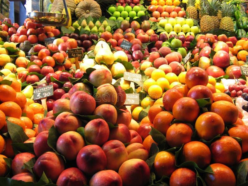 Mercado de frutas foto de stock royalty free