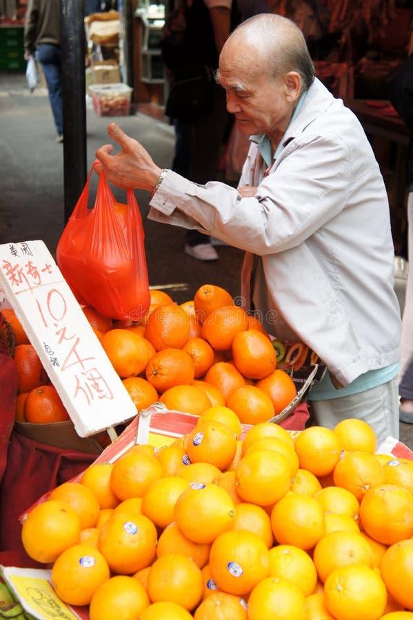 Mercado de Hong Kong foto de stock royalty free