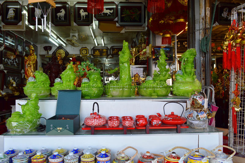 Mercado de Indochina fotografía de archivo