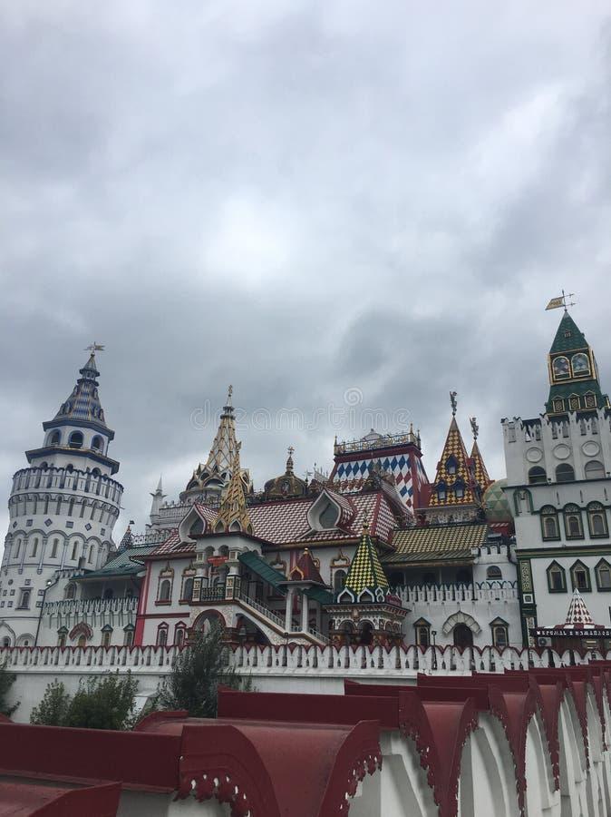 Mercado de Izmailovo en Moscú, Rusia imágenes de archivo libres de regalías