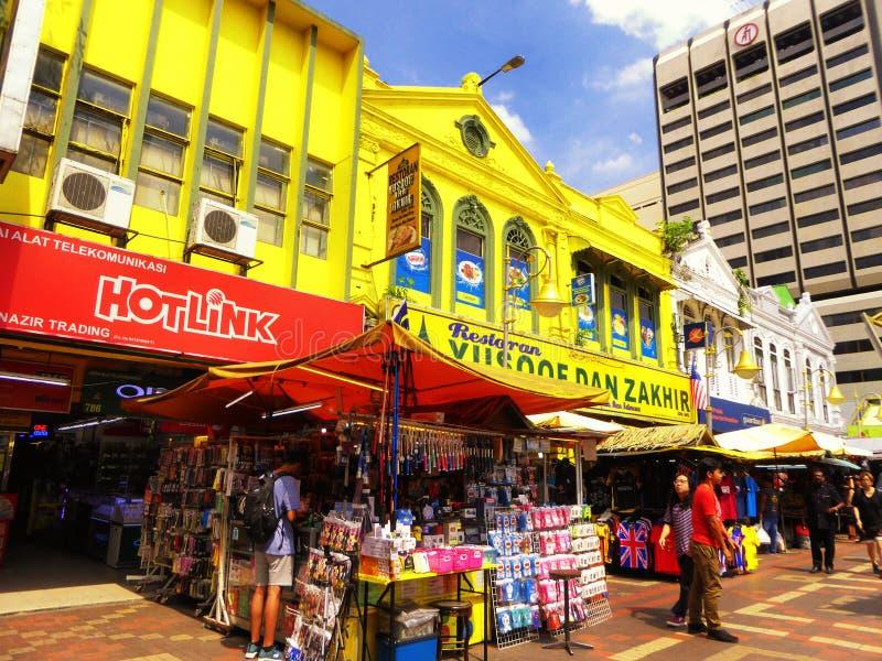 Mercado de Kuala Lumpur Central imagem de stock royalty free