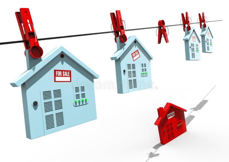 mercado de la casa libre illustration