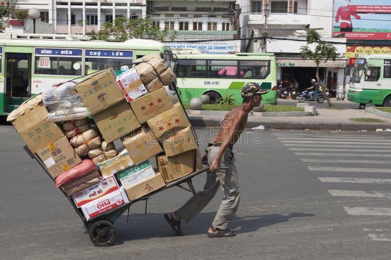 Mercado de la ciudad de China foto de archivo