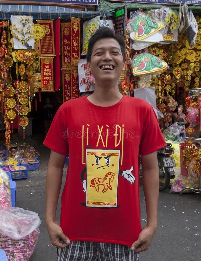 Mercado de la ciudad de China fotos de archivo