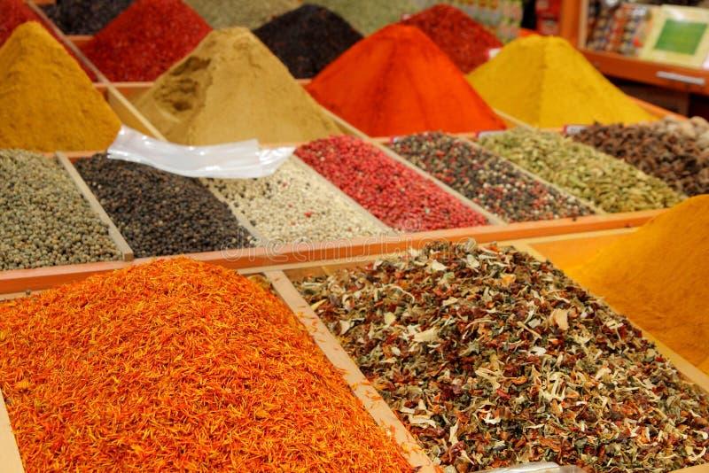 Mercado de la especia en Estambul fotos de archivo libres de regalías