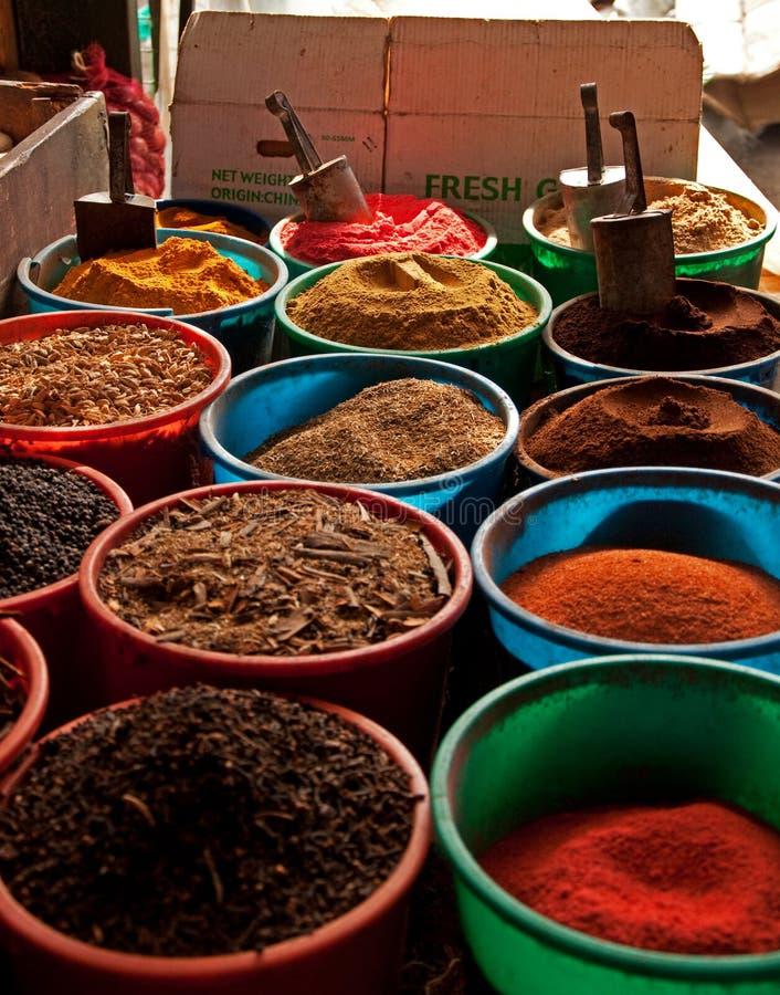 Mercado de la especia en Nairobi fotos de archivo