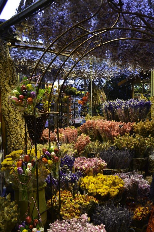 Mercado de la flor imagen de archivo libre de regalías