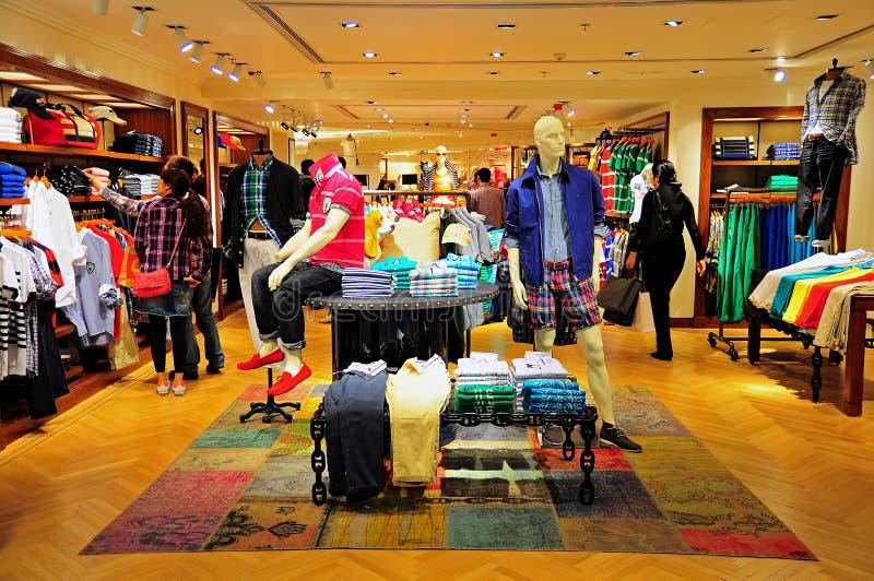Mercado de Tommy Hilfiger fotografía de archivo libre de regalías