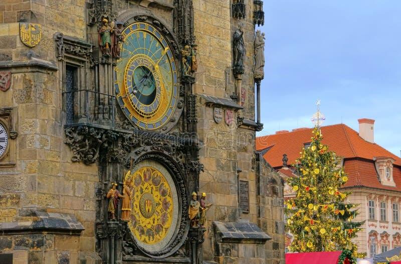 Mercado de la Navidad de Praga fotos de archivo libres de regalías
