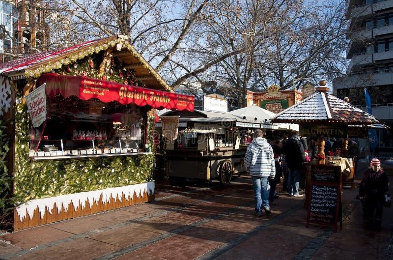 Mercado de la Navidad en Alemania, Pforzheim fotos de archivo