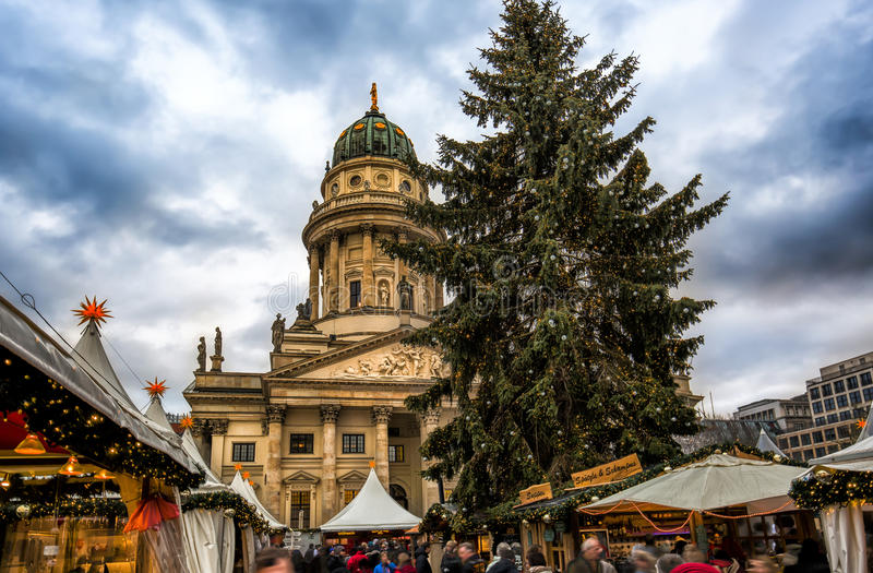 Mercado de la Navidad en Berlín, Alemania imagen de archivo libre de regalías