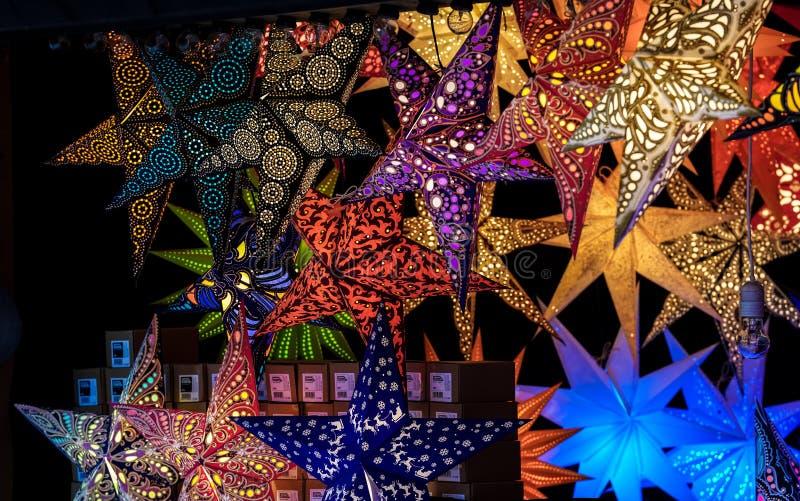 Mercado de la Navidad en Munich, Baviera, Alemania, Europa imagen de archivo libre de regalías