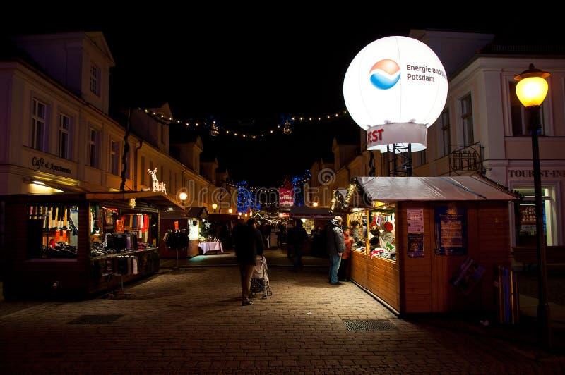 Mercado de la Navidad en Potsdam, Alemania foto de archivo