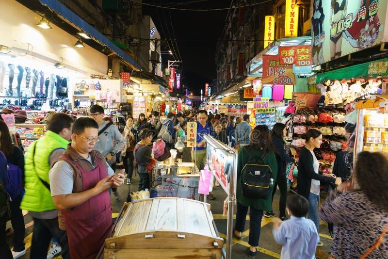 Mercado de la noche de Shilin imagen de archivo