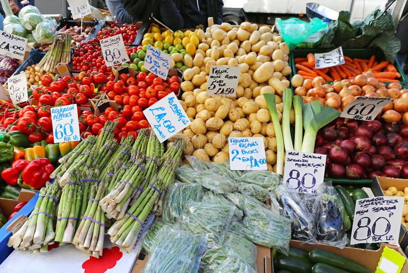 Mercado de los granjeros foto de archivo libre de regalías