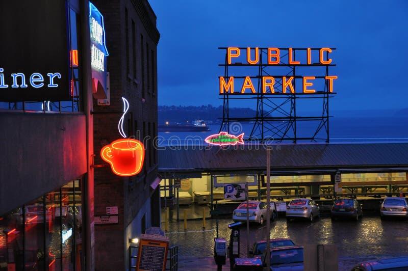 Mercado de lugar de Pike imagen de archivo libre de regalías