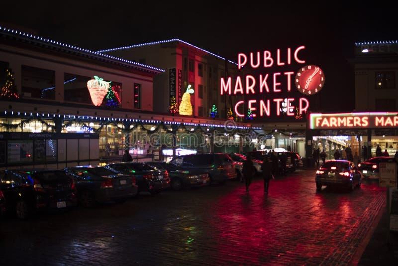 Mercado de lugar de Pike foto de stock royalty free