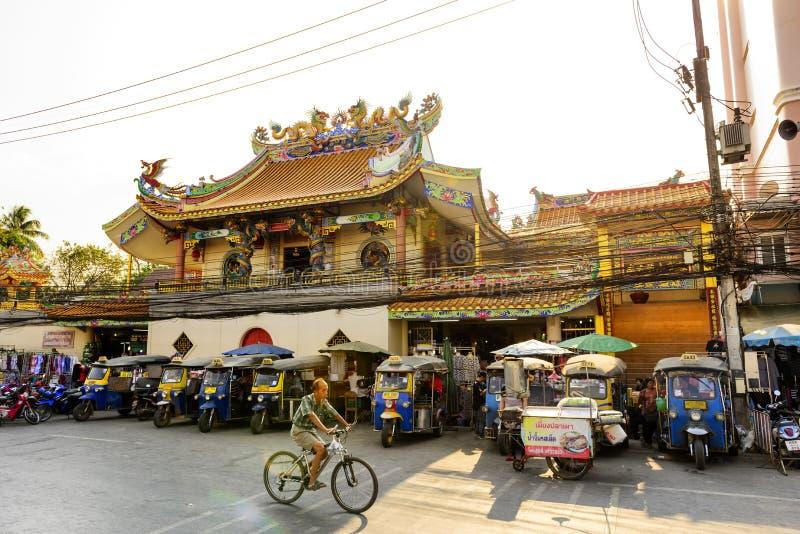 Mercado de Mae Sai fotografia de stock