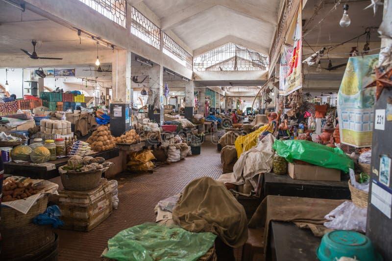 Mercado de Margao imagem de stock