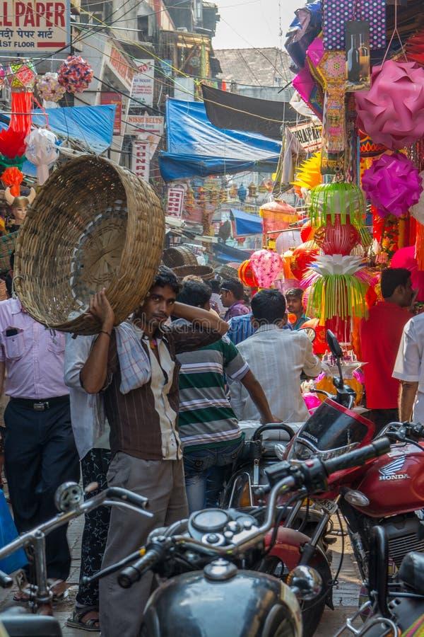 Mercado de Mumbai fotos de stock royalty free